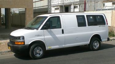 GM Savana, 8 passengers