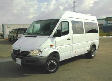 MB Sprinter 11 passenger van
